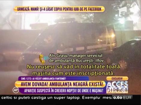"""Alis Grasu, manager serviciul de ambulanţă: """"Maşina nu aparţine serviciului nostru"""""""