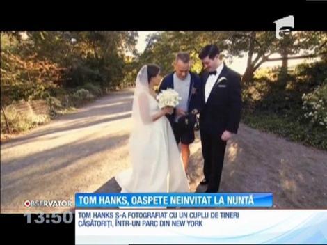 Tom Hanks, oaspete neinvitat la nunta unor tineri