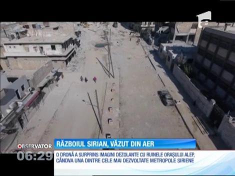 Războiul din Siria, văzut din aer
