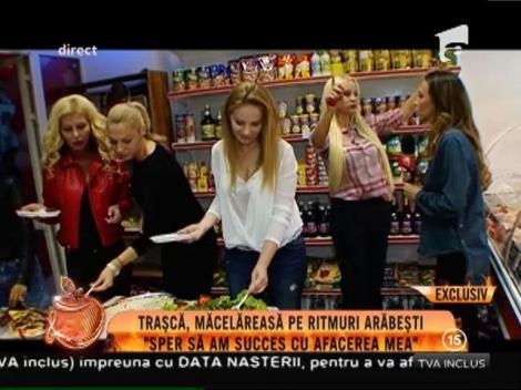 Simona Traşcă, femeie de afaceri. Și-ai deschis propria măcelărie!
