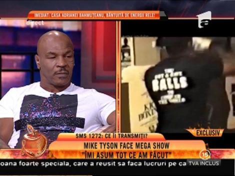 """Mike Tyson: """"Cu cât oamenii mă tratează mai urât cu atât devin mai puternic"""""""