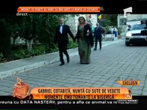 Gabriel Cotabiță, nuntă cu sute de vedete