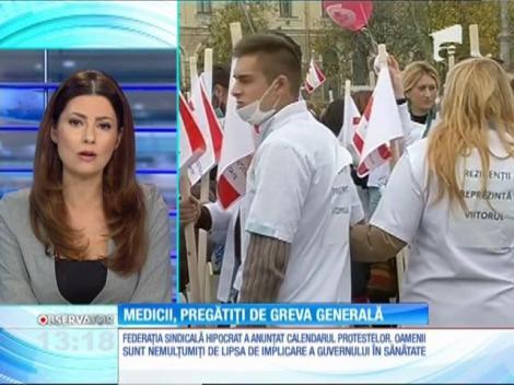 Medicii, pregătiți de greva generală