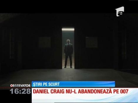 Daniel Craig revine în rolul agentului 007