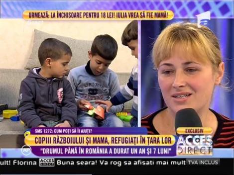 """Mama de origine romană care a fugit de războiul din Siria: """"Drumul până în România a durat un an și șapte luni"""""""