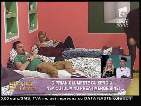 """Glumele dintre Sergiu și Iulian o supără pe Iulia de la """"Mireasă pentru fiul meu"""": """"E pe altă planetă"""