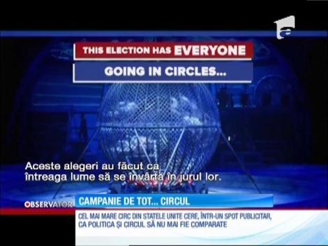 Conducerea Ringling cere ca alegerile prezidenţiale să nu mai fie comparate cu un circ