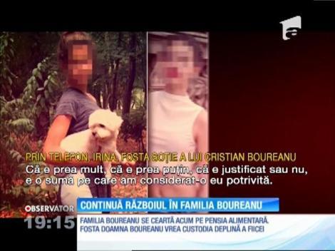 """Continuă războiul în familia Boureanu! După ce a bătut-o, fostul politician îi mai dă o """"palmă"""" fiicei sale"""