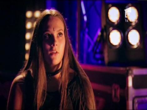 Alesia Dragoş Bumb are 17 ani şi vine din Baia Mare