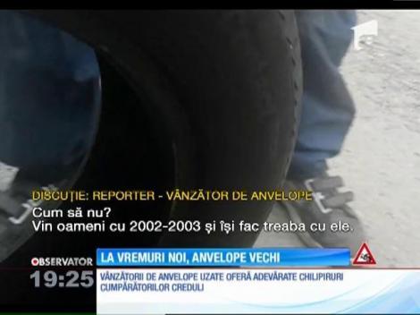 Sfatul specialiştilor: anvelopele second-hand pot cauza accidente grave