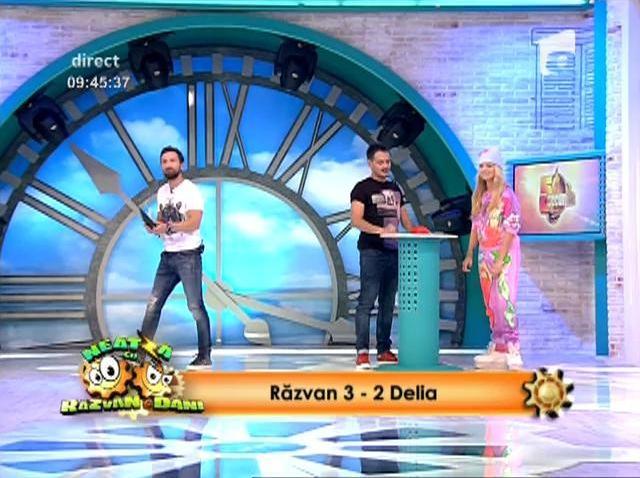 """O nouă provocare marca """"Neatza"""": Concursul """"5 secunde"""" o pune în dificultate pe Delia . Cum s-a descurcat jurata """"X Factor"""". """"Nu se poate să răspunzi la aşa ceva"""""""
