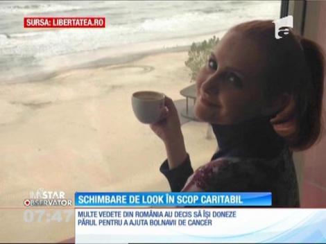Alina Sorescu, schimbare de look în scop caritabil