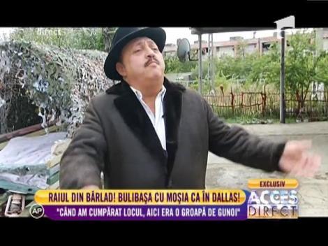 """Bulibaşa din Bârlad: """"Când am cumpărat locul, aici era o groapă de gunoi"""""""