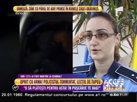 """Alina Teodorescu, purtător de cuvânt IPJ Vâlcea: """"Poliţistul prins băut la volan va fi anchetat de şefii de la Călăraşi!"""""""