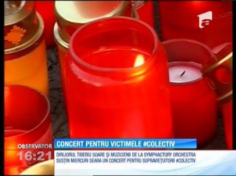 Concert de muzică simfonică pentru victimele incendiului Colectiv