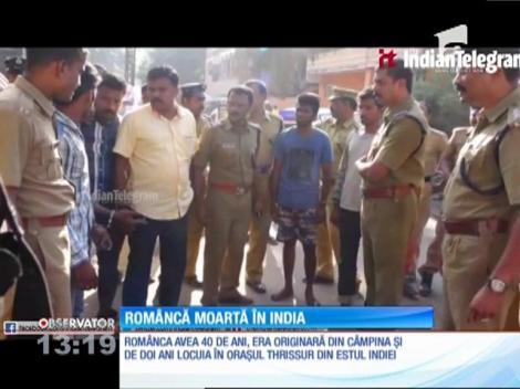 Româncă moartă în India