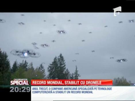Special! Record mondial stabilit cu drone