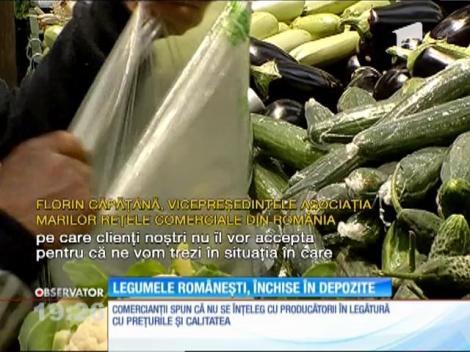 Tone de legume româneşti riscă să ajungă la gunoi din cauza importurilor din Vestul Europei