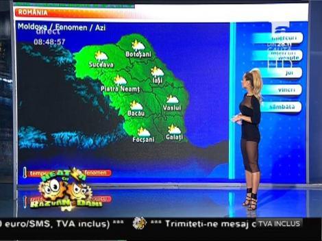Va fi frig şi astăzi în absolut toată ţara, dar precipitaţiile vor apărea rar