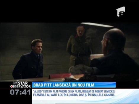 Brad Pitt lansează un nou film