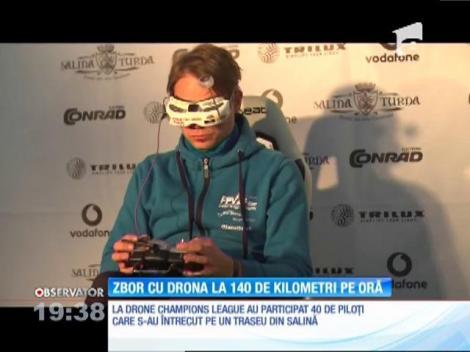 Formula 1 cu drone, într-o peșteră din România! Imaginile îți taie răsuflarea! (VIDEO)