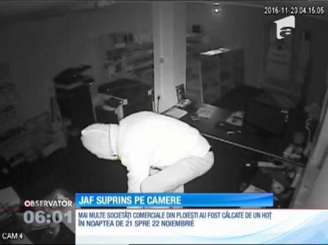 Jaf surprins pe camerele de supraveghere. Un sportiv celebru i-a căzut pradă