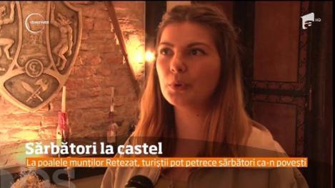 Un castel medieval din Deva le oferă turiştilor condiţii de cinci stele