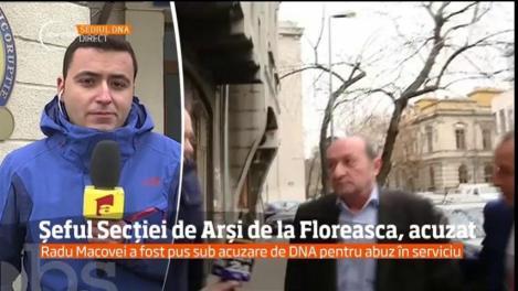Radu Macovei, şeful Secţiei de Arşi de la Spitalul Floreasca, pus sub acuzare pentru abuz în serviciu
