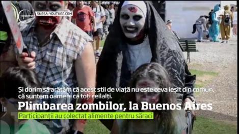 """Plimbarea zombilor"", la Buenos Aires"