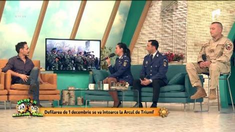 Ultimele pregătiri pentru parada militarilor de 1 Decembrie