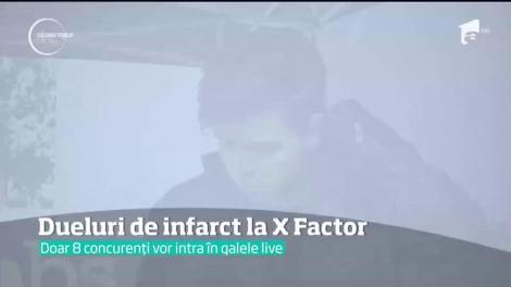 Dueluri de infarct la X Factor