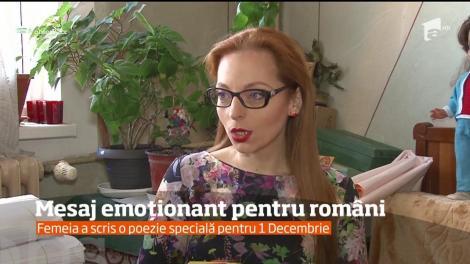 O femeie de 71 de ani, din Ploiești, nevăzătoare, a scris o poezie pentru români