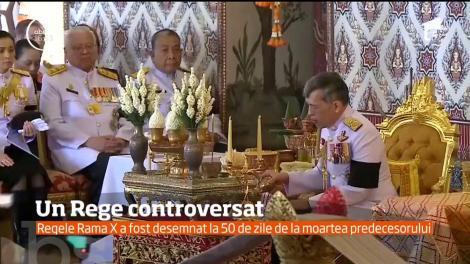 După 50 de zile de doliu şi nesiguranţă, Thailanda are un nou rege
