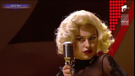 """Misha se transformă în Marilyn Monroe - """"My heart belongs to Daddy"""""""