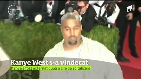 Kanye West a fost stabilizat de medici după ce a luat medicamente greşite