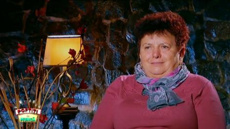 Diana Munteanu se sperie de un șarpe de plastic