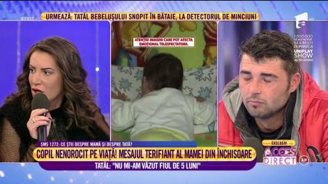 """Ştefan Angel, tatăl lui Marian: """"Nu mi-am văzut fiul de 5 luni"""""""