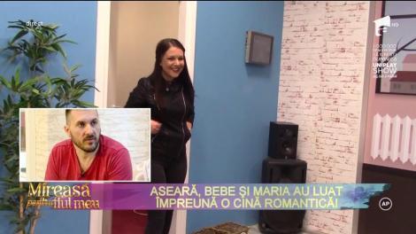 """Bebe şi Maria, întâlnire romantică: """"Din partea mea nu există niciun impediment!"""" Un nou cuplu în Casa Mireselor?"""