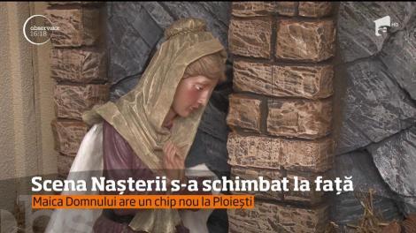 Figurinele din Ploiești, cu scena Nașterii lui Iisus Hristos, au fost schimbate de autorități
