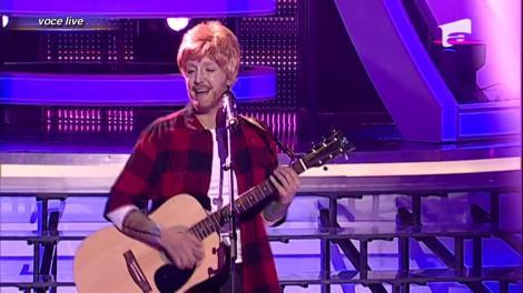 "Nico se transformă în Ed Sheeran - ""Sing"""