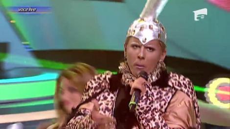 """Lucian se transformă în Denise Belfon - """"Work"""""""