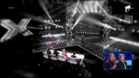 Oscar şi Miruna (Apollo), eliminaţi de la X Factor