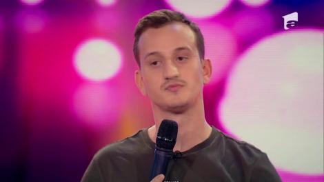 N-a fost în... man(e). Emoțiile finalei l-au copleșit pe Mane Voicu, iar glumele lui nu le-a smuls niciun zâmbet juraților!