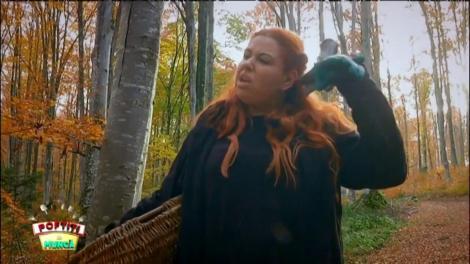 Oana Roman a plecat să adune ciuperci și s-a rătăcit în pădure