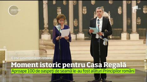 Moment istoric pentru Casa Regală a României, sărbătorit cu fast la Palat!