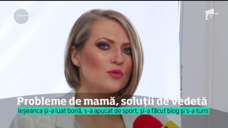 Mirela Boureanu Vaida a avut un început de depresie după cea de-a doua naştere