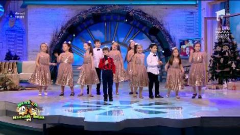 """Andreas Maxer şi Grupul """"Miracol Junior"""" - """"Moş Crăciun, vreau să vii"""""""