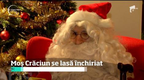 Moş Crăciun poate fi închiriat