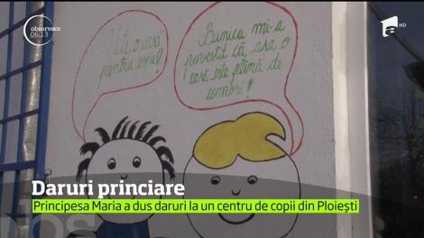 Alteţa Sa Regală, Principesa Maria, a petrecut o zi de poveste la un afterschool, în Ploieşti