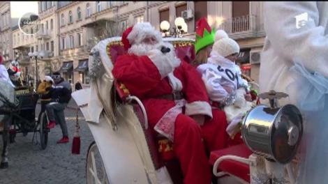 Moş Crăciun i-a vizitat, aseară, pe copiii cuminţi din Brăila!